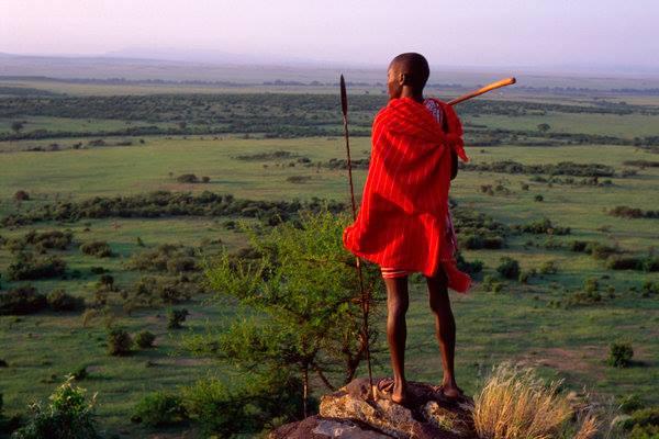Maasai-Leader